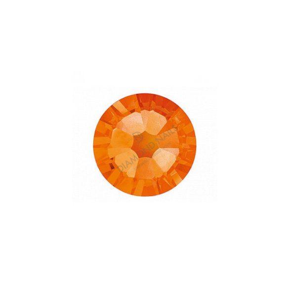 Piedras grandes de cristal Swarovski, color naranja 100 und