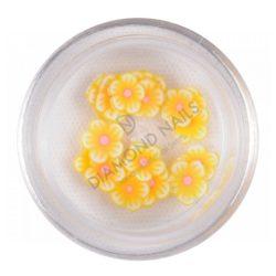 Fimos de flores - limon