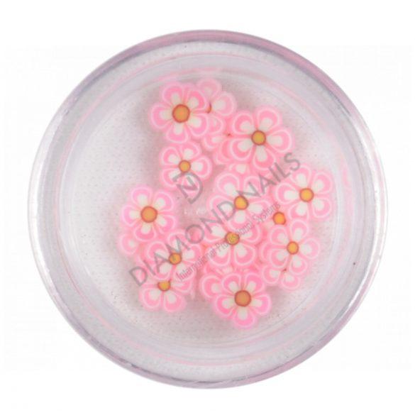Fimos de flores - rosa claro