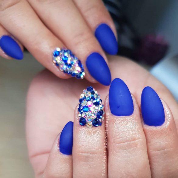 Gel Esmalte 081 - Azul real Metalizado