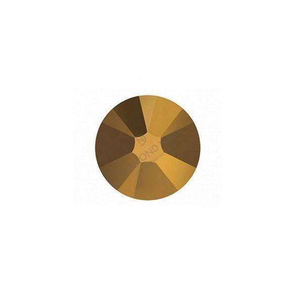 Piedras de cristal Swarovski - color dorado 100 unidades