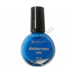 Esmalte estampado azul