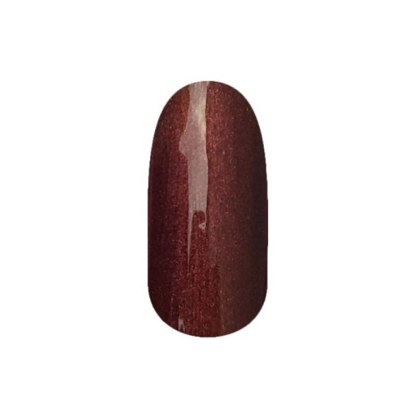 Gel esmalte 206 - Marrón Chocolate (perla)