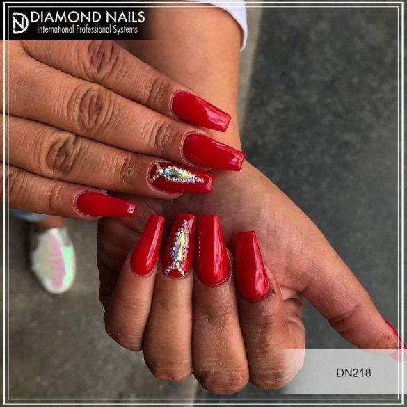 Gel Esmalte 218 - Rojo Pimiento