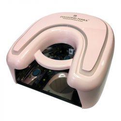 Lámpara UV LED para uñas de gel 36W (Rosa)