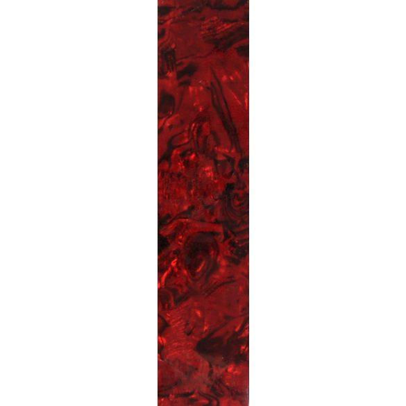 Hoja adhesiva de nácar - rojo