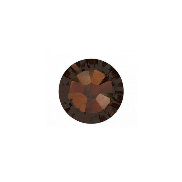 Piedras de cristal Swarovski, color café  100 und