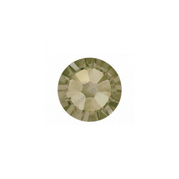 Piedras de cristal Swarovski, color khaki  100 und