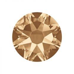 Cristal de Swarovski, color dorado  20und