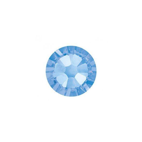 Piedras de cristal Swarovski, color azul claro 100 und