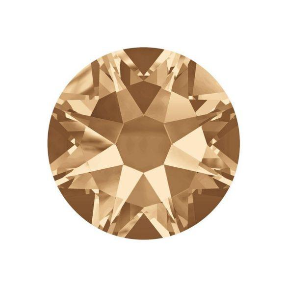 Piedras de cristal Swarovski, color oro 100 und
