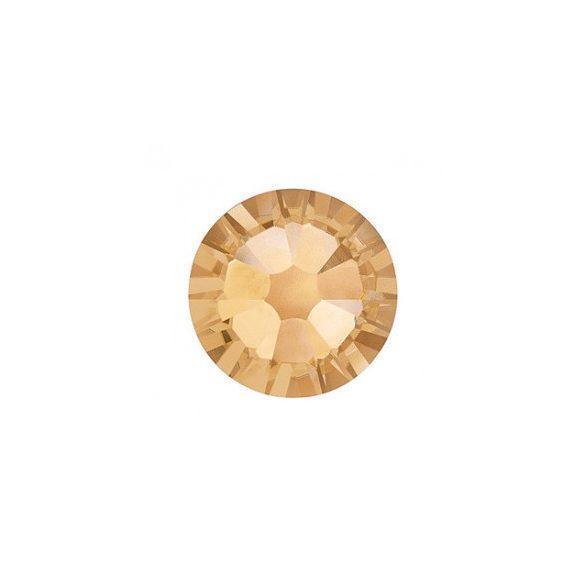 Piedras grandes de cristal Swarovski, color oro 100 und