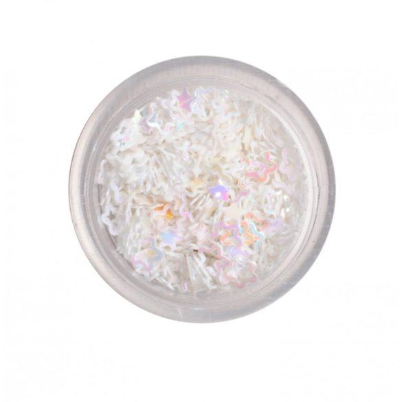 Flores de plástico - blanco