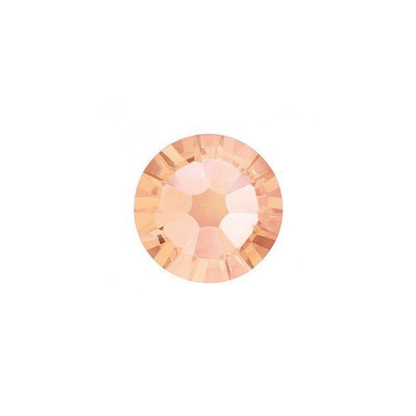 Piedras grandes de cristal Swarovski, color melocotón 100 und