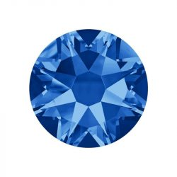 Cristal de Swarovski, color azul oscuro  50 und