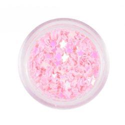 Estrellas plásticas - rosa