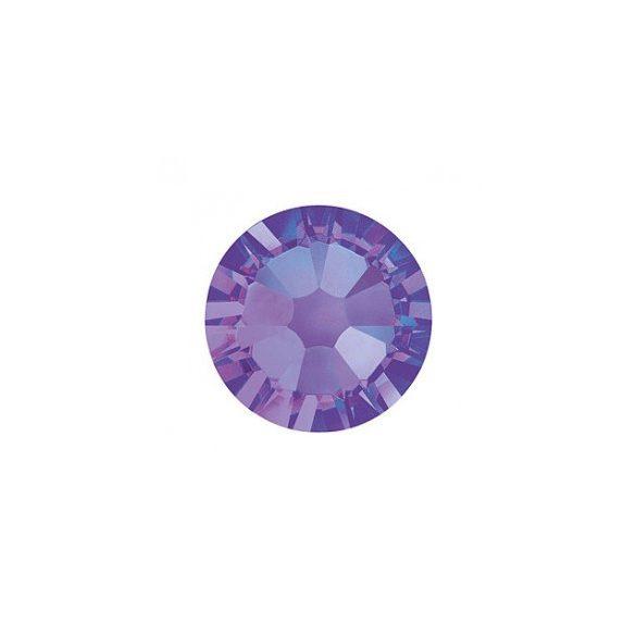 Piedras grandes de cristal Swarovski, color púrpura 100 und
