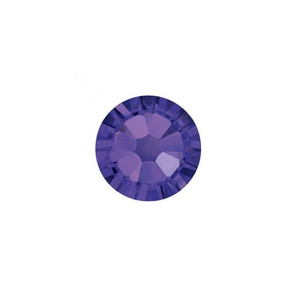Piedras grandes de cristal Swarovski, color púrpura oscuro 100 und