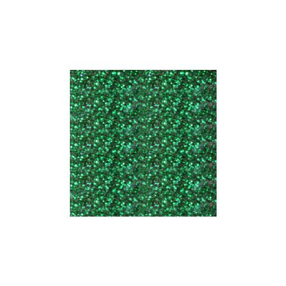 Polvo de porcelana, color Verde con Purpurina