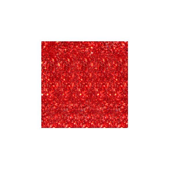 Polvo de porcelana, color Rojo con Purpurina