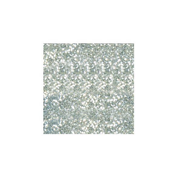 Polvo de porcelana, color Plata con Purpurina