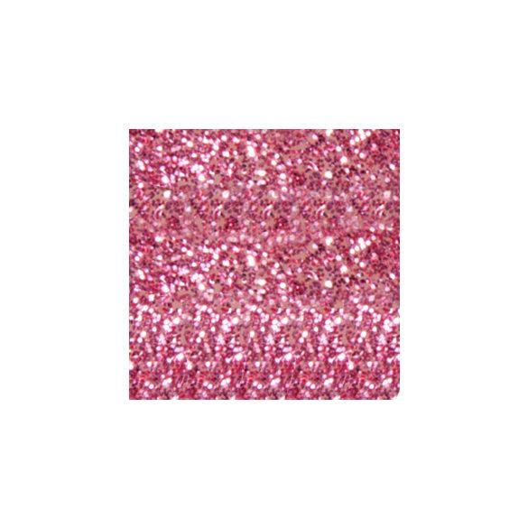 Polvo de porcelana, color Rosa con Purpurina