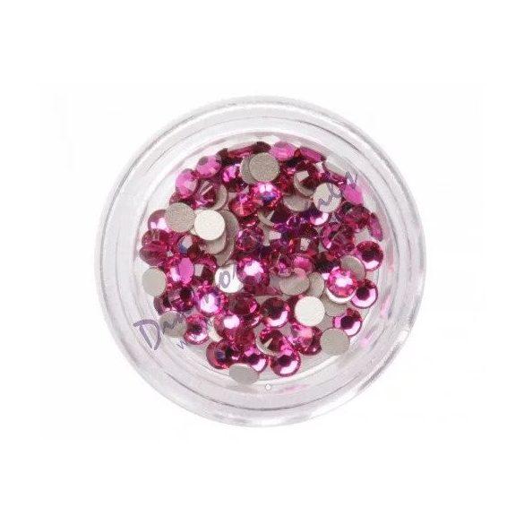 Piedras grandes de cristal Swarovski, color fuscia 100 und