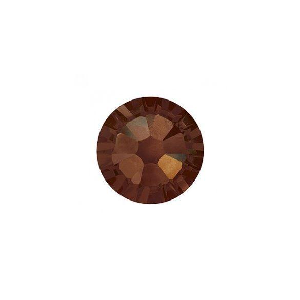 Piedras grandes de cristal Swarovski, color marrón oscuro 100 und