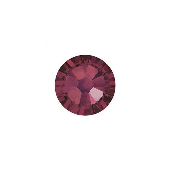 Piedras grandes de cristal Swarovski, color borgoña 100 und