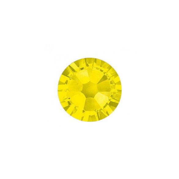 Piedras grandes de cristal Swarovski, color amarillo 100 und